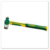 玻璃纤维柄圆头锤(高档TPR包塑柄)
