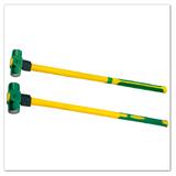 高档玻璃纤维柄八角锤(TPR包塑柄)