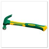 弯角玻璃纤维柄羊角锤(高档TPR包塑柄)